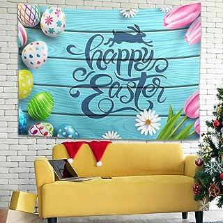 Zhenxinganghu - Tapiz psicodélico con decoración Art Nature Home para salón Dormitorio, poliéster, Blanco, 230x150cm