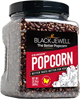 Black Jewell Gourmet Popcorn Kernels, Crimson, 28.35 Ounces (Pack of 1)