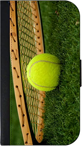 Tennis Ball and Racquet Passport Protector Case Cover/Card Holder for Travel