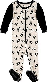 Leveret Kids Pajamas Baby Boys Girls Footed Pajamas Sleeper 100% Cotton  (Size 6- 6a22e4035