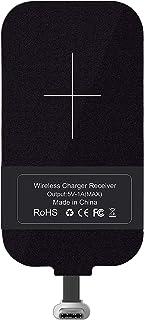 Tipo C Qi Receptor de carga inalámbrico, Ultra delgado USB C Qi Receptor de chip inalámbrico Receptor para Google Pixel XL...