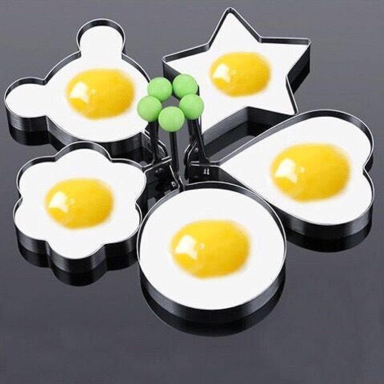 Omelette Ring Children's Pancake Mold St With Handle Indefinitely Elegant Stainless