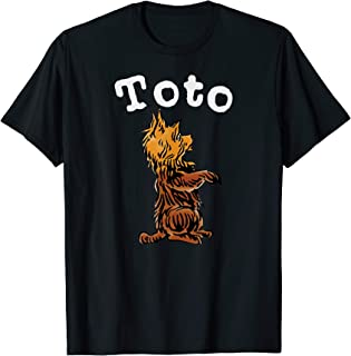Classic Fairytale Toto the Dog Art-Vintage Wizard of OZ Toto T-Shirt