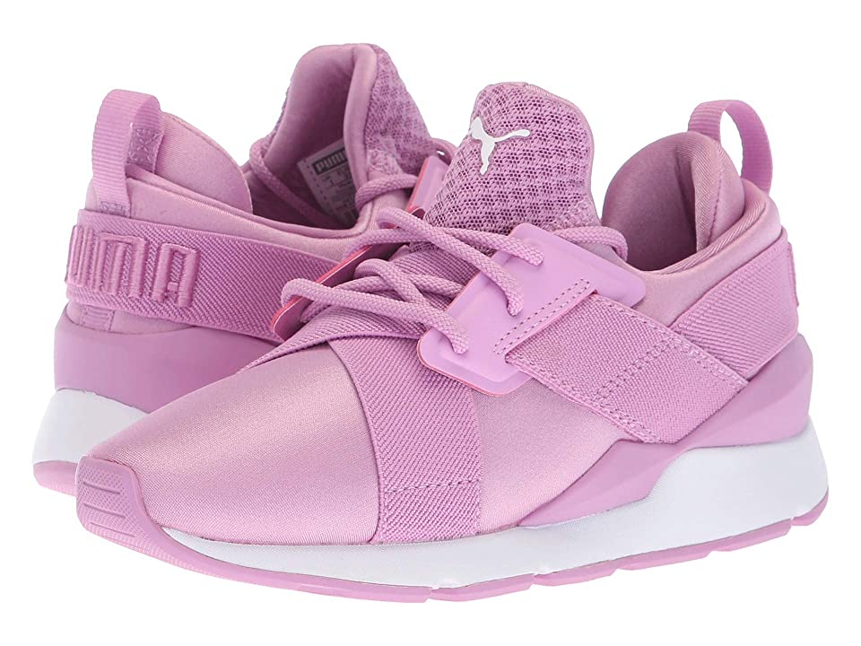 Puma Kids Muse (Little Kid) (Orchid/Orchid) Girl