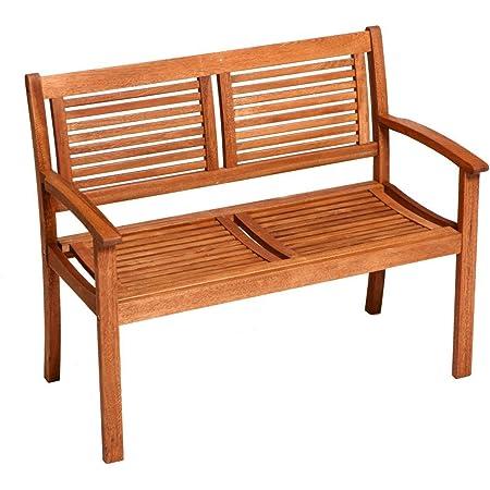 Amazon De Sam Gartenbank Cordoba Aus Akazie Fsc 100 Zertifiziert 110 Cm Breit 2 Sitzer Holzbank Geolt Gartenmobel Aus Holz Massivholz Bank Fur Terrasse Balkon