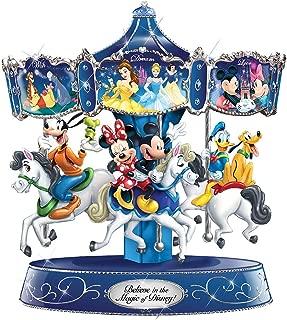 Disney Believe in The Magic Rotating Musical Bradford Exchange Carousel