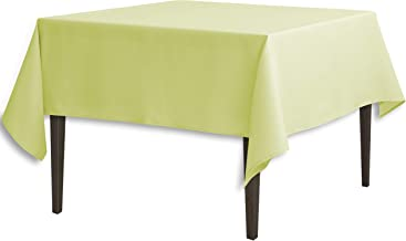 LinenTablecloth 85 Inch Square Polyester Tablecloth