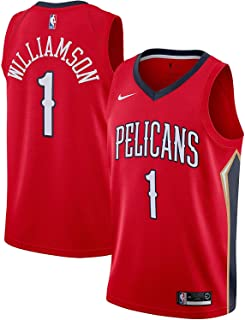 Nike Zion Williamson New Orleans Pelicans NBA Boys Youth 8-20 Red Statement Edition Swingman Jersey