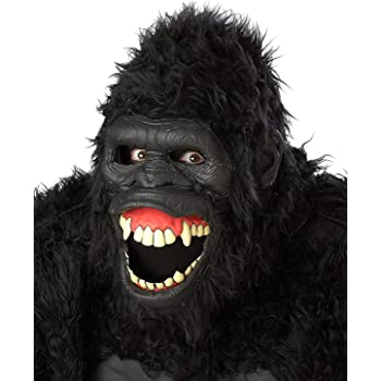Gorilla Brown Hairy Hand/'s Ape Werewolf  Monkey Paws Gloves Costume  Fancy Dress