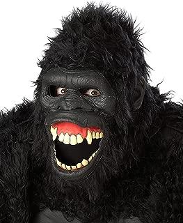 moving gorilla mask
