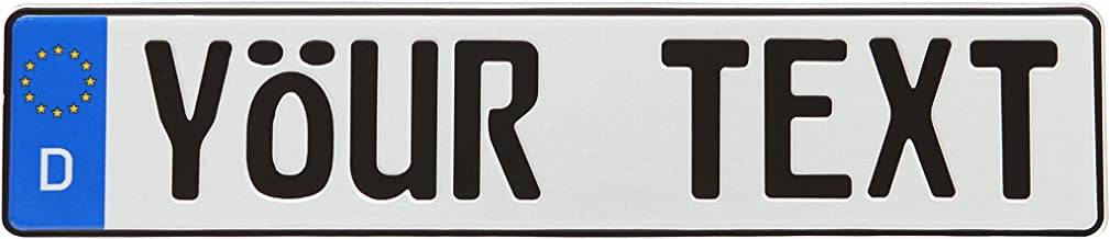 bmw e30 number plate