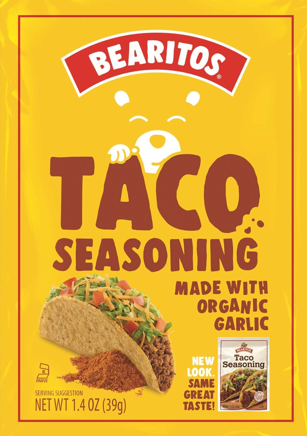 Bearitos Taco Seasoning Ranking TOP5 1.4 of 12 Oz Pack Alternative dealer