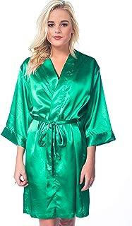 Women's Silk Satin Robe Bride Bridesmaid Sexy Robes for Women Robe