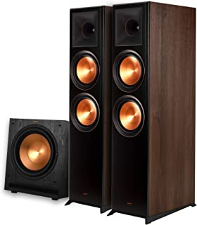 Klipsch RP-8000F 2.1 Home Theater Bundle with SPL-120 Subwoofer Walnut