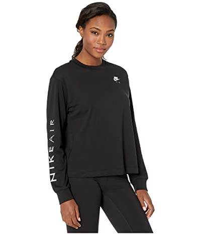 Nike NSW Air Top Long Sleeve (Black) Women