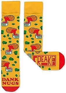 Feet, Unisex Casual Dress Fun Colorful Cotton Crew Socks, Dank Nugs Chicken Nuggets