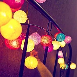 Ledmomo ışıklar sıranın Top–20LED-Işık-Periler piller 9.8des Tezgah-balon Düğün Noel dekorasyonu için ayaklar
