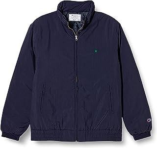 [チャンピオン] ジップジャケット ブルゾン アウター 中綿キルト Cロゴ刺繍 サテンアップリケ C3-Q618 メンズ