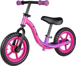 Albott Sport Balance Bike Kids Glider Bike Non Slip Footrest Adjustable Height Seat Handlebar for Boy Girl Toddler Trainin...
