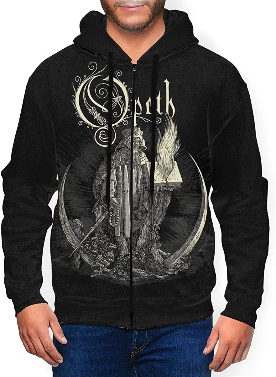 RobinEllis 国内正規総代理店アイテム Opeth Men Hoodie Sweatshirt Autumn 限定価格セール Wi Jacket Full-Zip