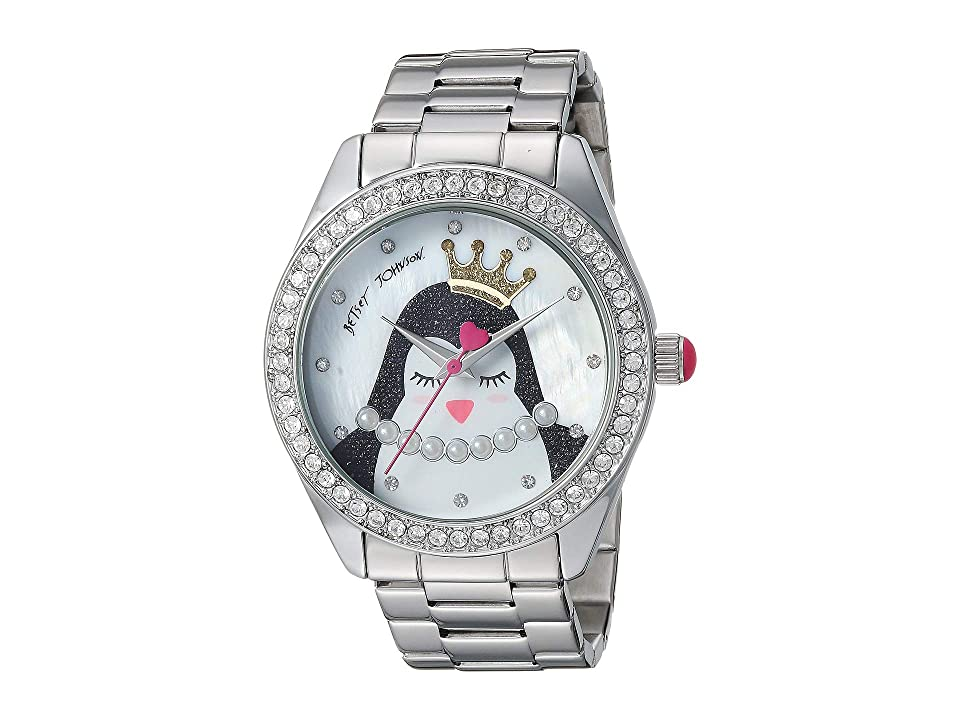 Betsey Johnson Y121-E5 Steel Bracelet (Silver) Watches