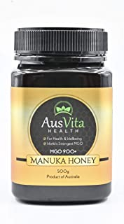 AusVita Certified Manuka honey Highest MGO in UAE (MGO 900+) 500g
