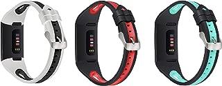 Turnwin Fitbit charge 3 交換バンド/charge 3 se (special editon)バンドシリコン製 多色有り柔軟快適 ストラッカー活動量計 fitbit charge3とcharge 3 スペシャルエディションに適応交換リストバド