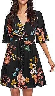 61a42a24e323 Amazon.es: Negro - Vestidos / Mujer: Ropa
