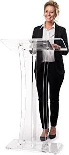 Best acrylic podium stand Reviews
