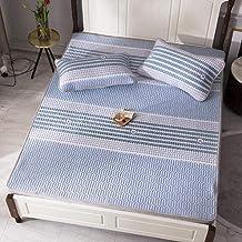 Summer Sleeping mat Sheets Tencel Modal Washed Latex mat Three-Piece Thick Foldable high-Quality Natural Latex mat Set ai...