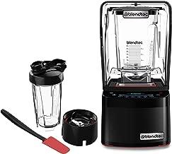 Blendtec GO Cup (34 oz) 800 Blender-WildSide+ Jar (90 oz) Spoonula Spatula BUNDLE - Industries Strongest and Quietest Professional-Grade Power, 11-Speed Touch Slider, Black