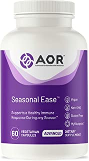 AOR, Seasonal Ease, Supports Immune and Respiratory Health, 60 Capsule