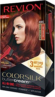 Revlon Colorsilk Buttercream Hair Dye, Vivid Violet Black, Pack of 1
