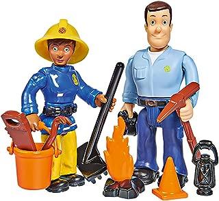 Simba 109251026 Fireman Sam Figures Double Pack II 4 Assorted