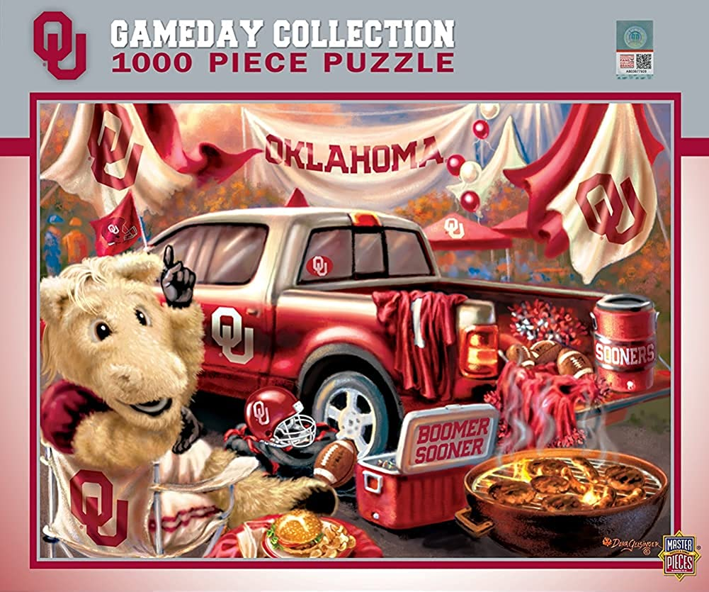 MasterPieces NCAA Gameday Super sale period limited Puzzles Collection Tail - Elegant