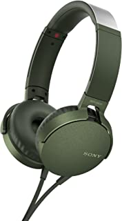 comprar comparacion Sony MDR-XB550APG Auriculares de Diadema Extra Bass (Micrófono Integrado Compatible con Smartphones, Diadema Metálica Adap...