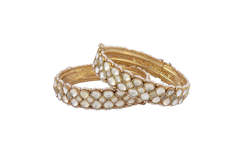 VRUDEV JEWELS Jadtar Bangles for Women Set Phoenix Mall Ope of Max 49% OFF Jewelry 2