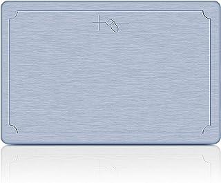 TENYOO 珪藻土 バスマット 足ふきマット お風呂マット 強力吸水 速乾 防カビ 防ダニ 抗菌 調湿 快適 浴室 洗面所 (ブルー, 45*35)