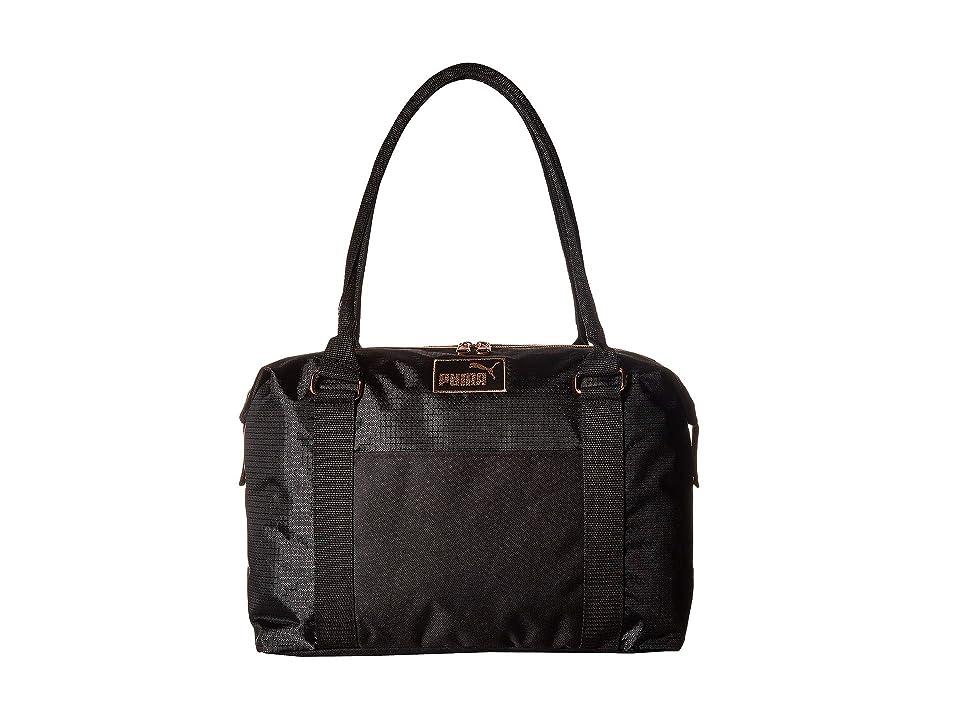 PUMA Evercat Jane Tote/Duffel (Black/Gold) Duffel Bags