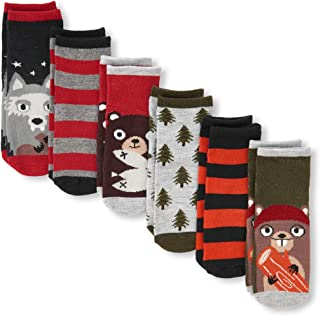 The Children's Place Baby Boys 6 Pack Mid Calf Socks
