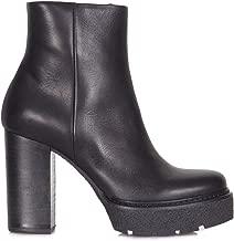 VIC MATIÉ Luxury Fashion Womens 1T6950DT22T3601BLK Black Ankle Boots | Season Permanent