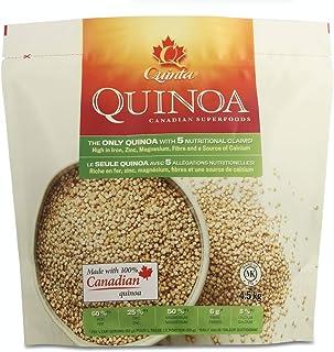 Quinoa Gluten free, Quinta Quinoa, High Iron Foods, 100% Whole Grain Vegan Foods High in Protein Low Carb foods; Local Qui...