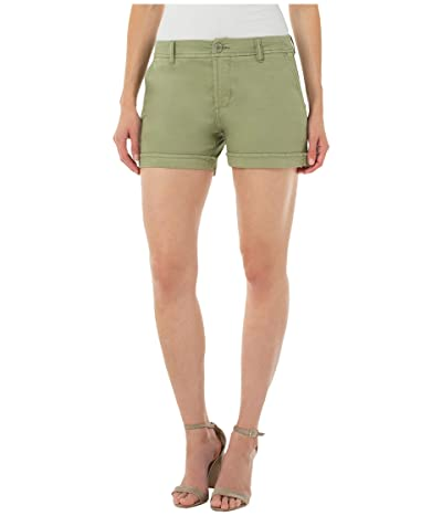 Liverpool Buddy Rolled Trousers Shorts Women
