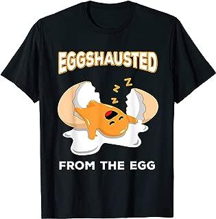EGGshausted From The Egg T-Shirt World Record Egg Meme Shirt