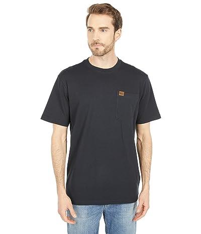 Filson Short Sleeve Pioneer Solid One-Pocket T-Shirt (Fast Track) (Black) Men