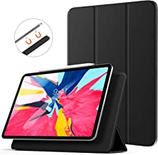TiMOVO Cover Compatible for iPad Pro 11 Inch 2018 Case, [Support Apple Pencil Pair & Charging] Strong Magnetic Attachment, Trifold Stand Case with Auto Sleep/Wake Fit iPad Pro 11