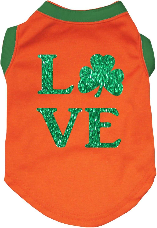 Petitebella Love Clover Regular dealer Puppy Dog Orange Shirt Regular store X-Small