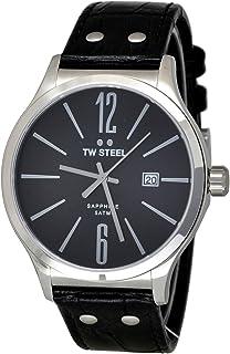TW Steel Watch for Men, Leather, TW1300