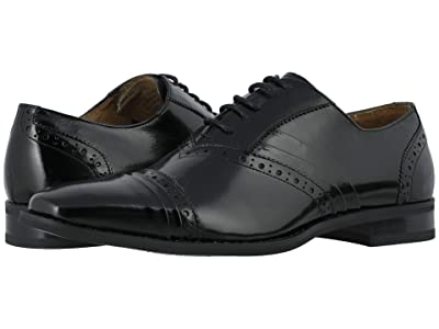 Stacy Adams Talford Cap Toe Oxford (Black) Men