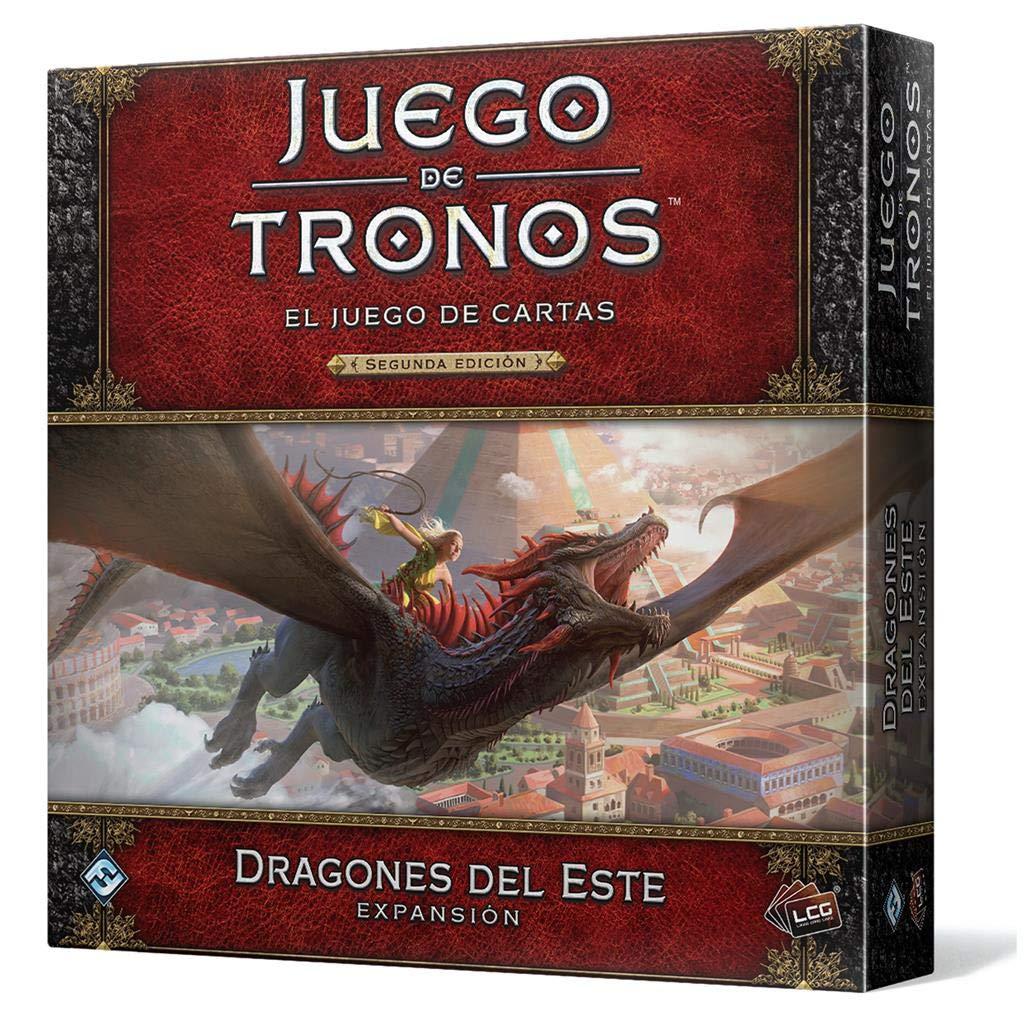 Fantasy Flight Games-Juego de Tronos LCG-Dragones del Este, Color (GT53ES): Amazon.es: Juguetes y juegos
